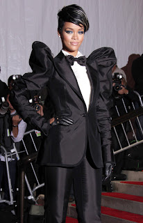 Rihanna at Metropolitan Museum of Art Costume Institute Gala 2009