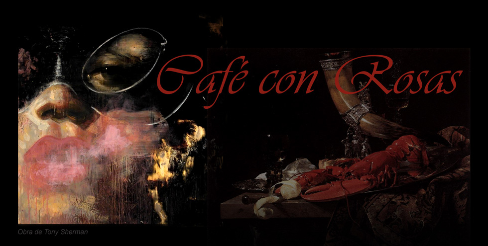 Café con rosas