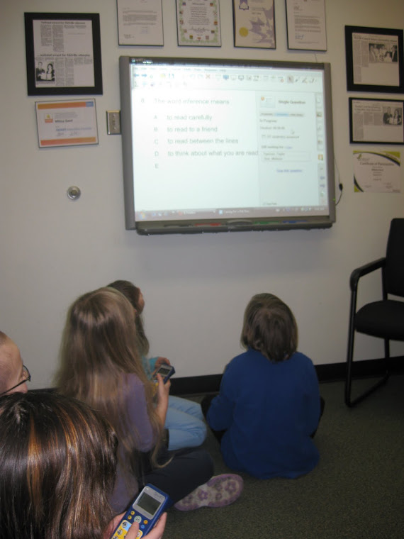 Guided Reading in the Principal's office