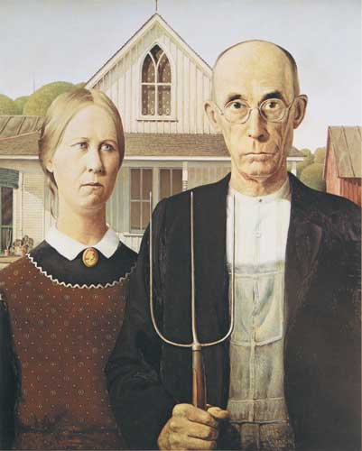 an analysis on american gothic by grant wood essay American gothic artist grant wood year 1930 medium oil on beaverboard location art institute of chicago dimensions 2925 in × 2425 in 743 cm × 624 cm american.