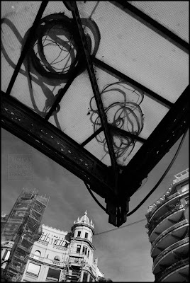 Valencia en blanco y negro