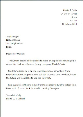 sample of formal letter format images letter format formal sample