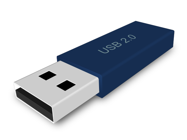 My Vectory: USB Flash Drive - Free Clip Art