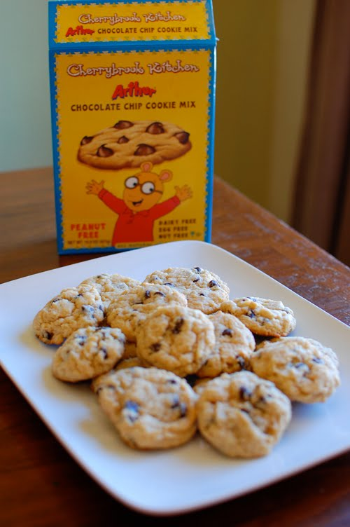 Sugarsong Custom Cakes Cherrybrook Kitchen Chocolate Chip Cookie Mix Review