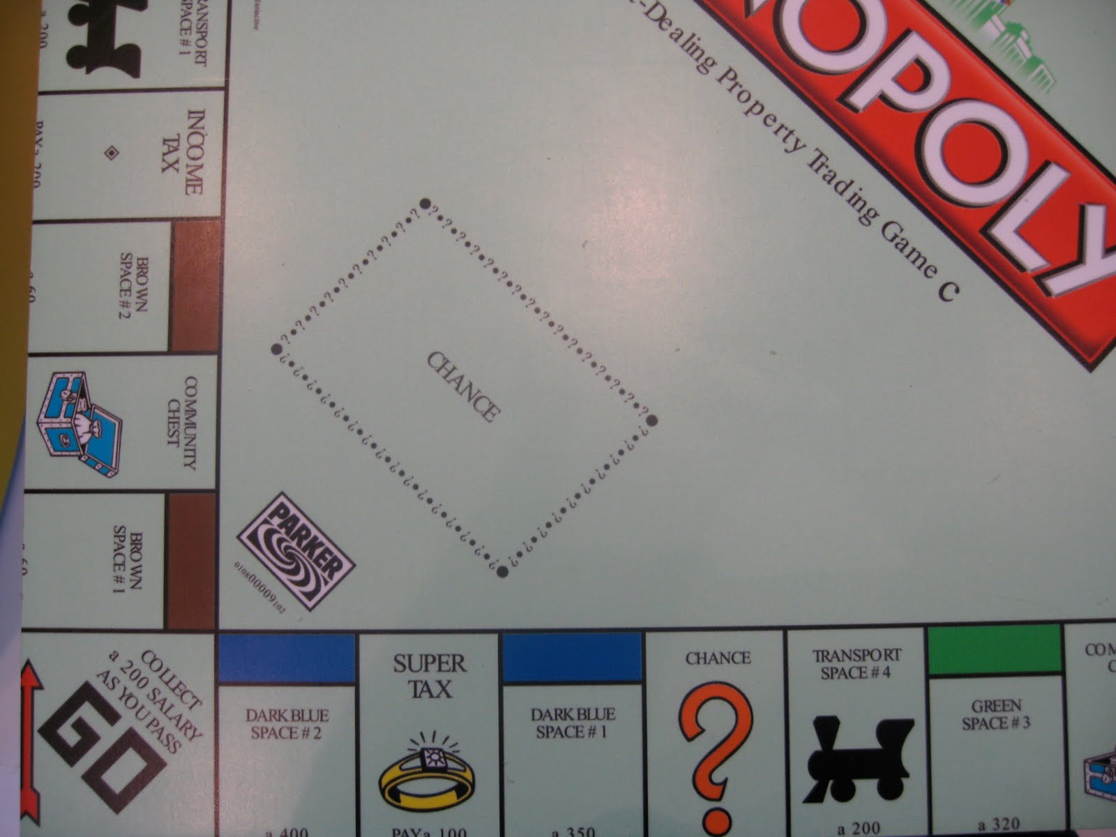 4 stations on monopoly board