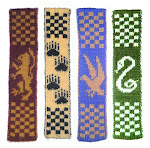 Hogwarts Double Knitted Bookscarves