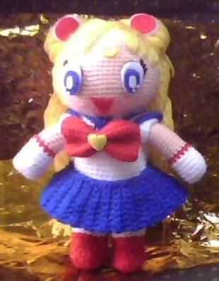 Sailor Moon Amigurumi Patron Gratis : PAU AMIGURUMI: SAILOR MOON