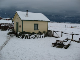 Bunkhouse in Early Snow