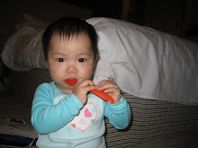 Teething on a spoon