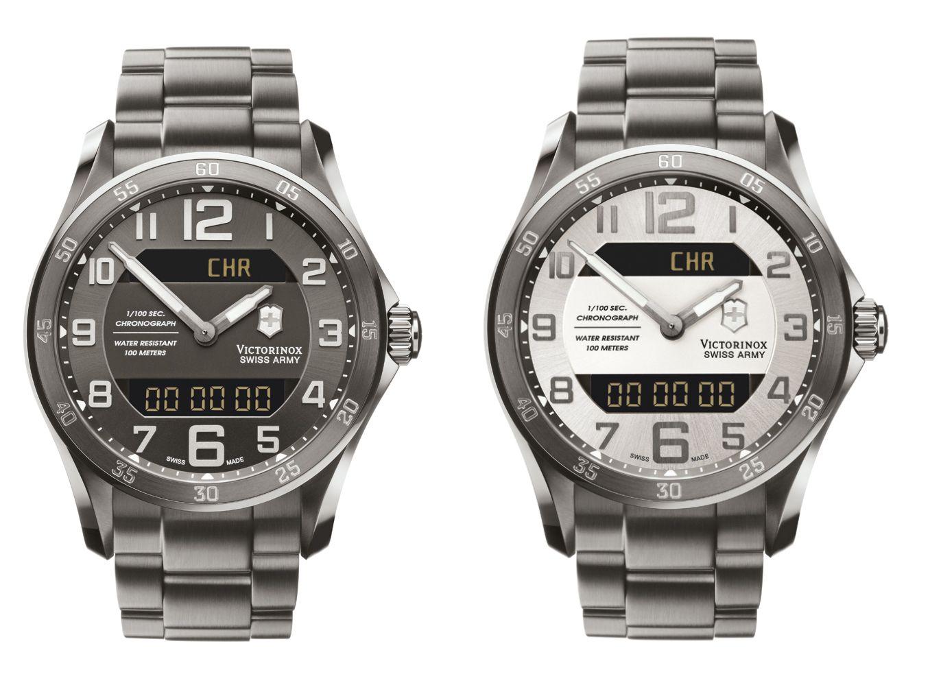 swiss army chrono classic multitask watch