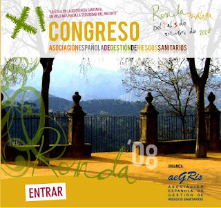 Cartel del XI Congreso de AEGRIS, Ronda 2008