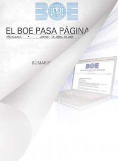 El BOE pasa pgina, de la de papel a la web