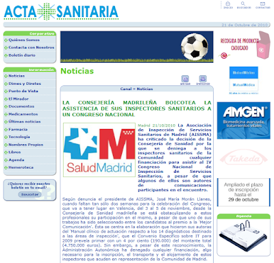 Acta Sanitaria 21/10/2010