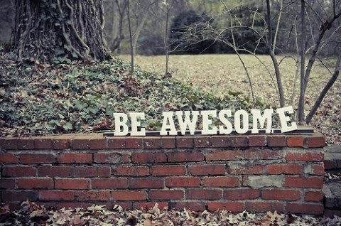 [be+awesome]