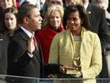 President Obama Takes Oath on Lincoln Bible