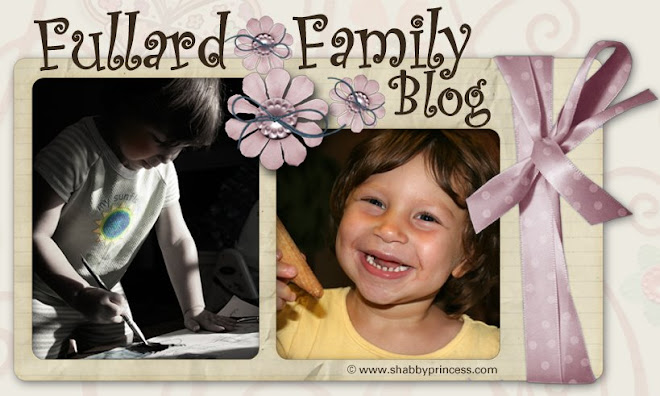Fullard Family Blog