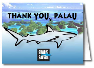 Savers to get 10 000 signatures for this thank you card to palau
