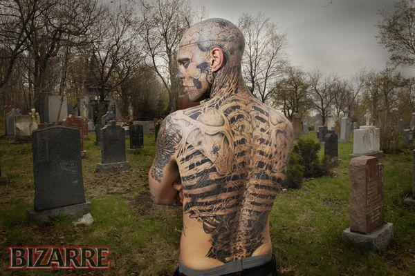 MyClipta: Bizarre and extreme Body Tattoos