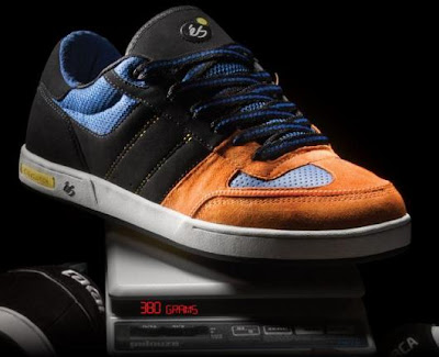 eS Scale Skateboarding Shoe - World's Lightest Technical Skate Shoe