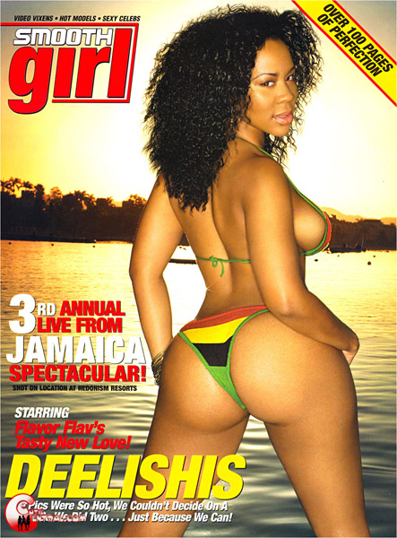 Old School Smooth Girl Magazine - Deelishis in Jamaica