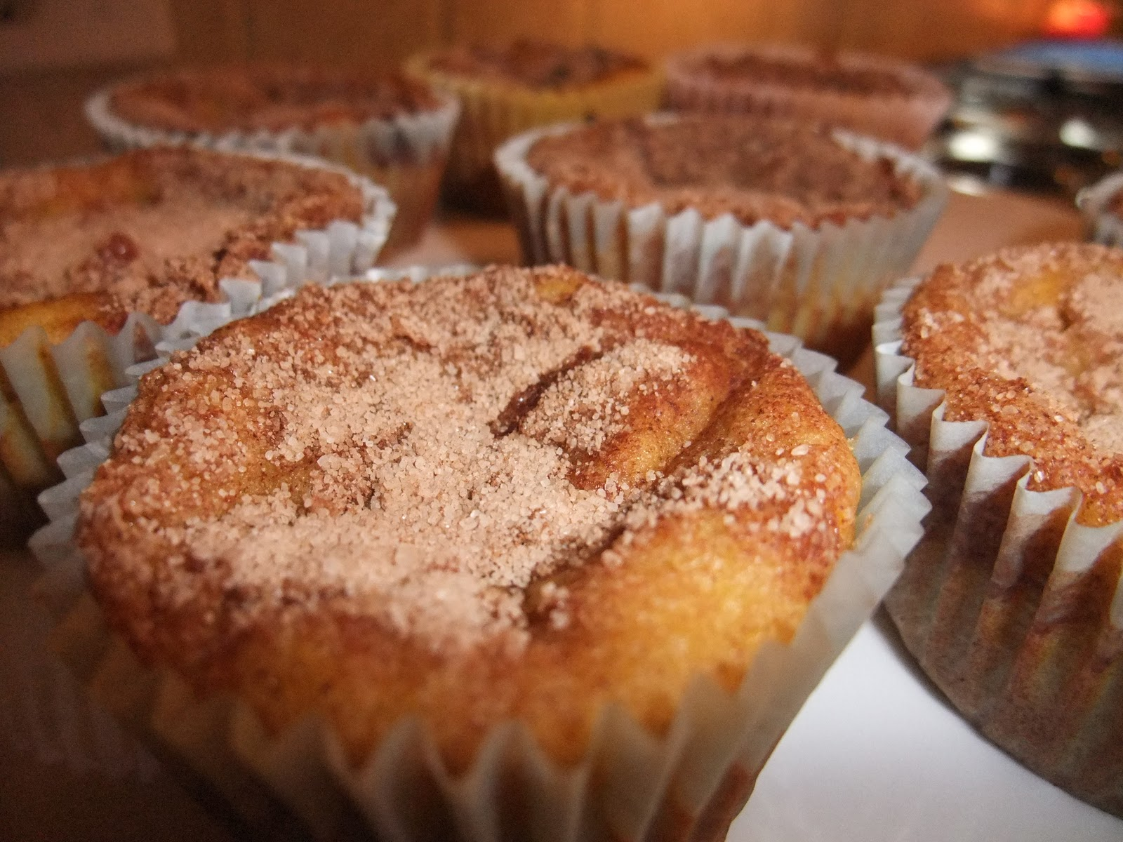 Andrea's Greek Table: Cinnamon-Crunch Sweet Potato Muffins