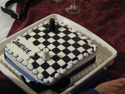 Chess Birthday Cake Ideas