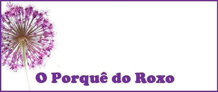 O porquê do roxo