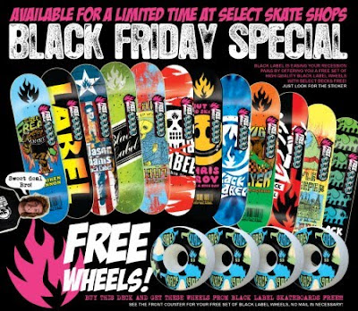 Black Friday Black Label Skateboards