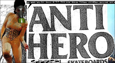 Antihero Skateboards Website Updates