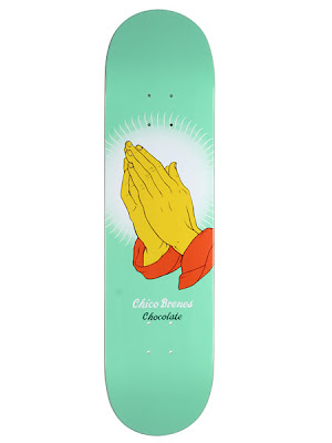 Chocolate Skateboards Chico Brenes Praying Hands Skateboard Deck