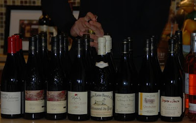 Flight of Cotes du Rhone. Click for high res photo. (c)2008 SmellLikeGrape