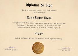 Diploma do blog