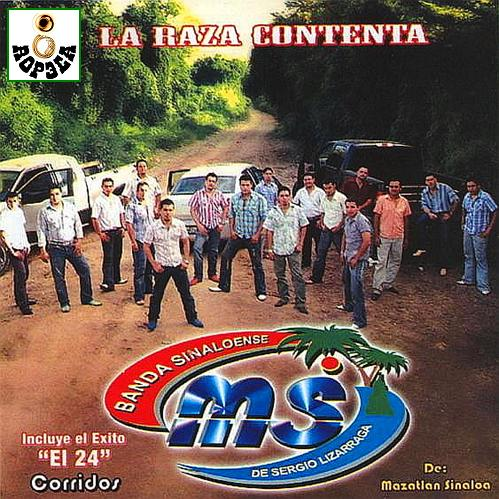 Banda MS -  LaRaza Contenta CD Album 2007
