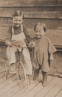 click here to see the Full Size image of my Dad and my uncle Gord in 1922