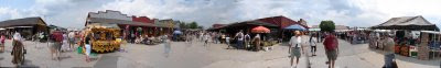click here for the Full Size image (panorama) of St Jacobs Market, made from 20 snapshots