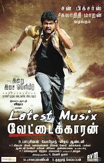 Download Vettaikaaran Tamil Movie MP3 Songs