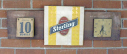 Sterling beer sign 1974
