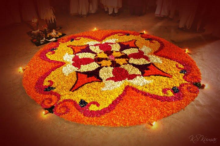 Onam Pookalam Designs Photos And Ideas 2012 OnamPookalam