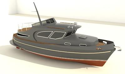 projektowanie i budowa jachtów: jacht stalowy