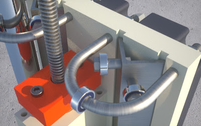 CNC prowadnica liniowa osi Z