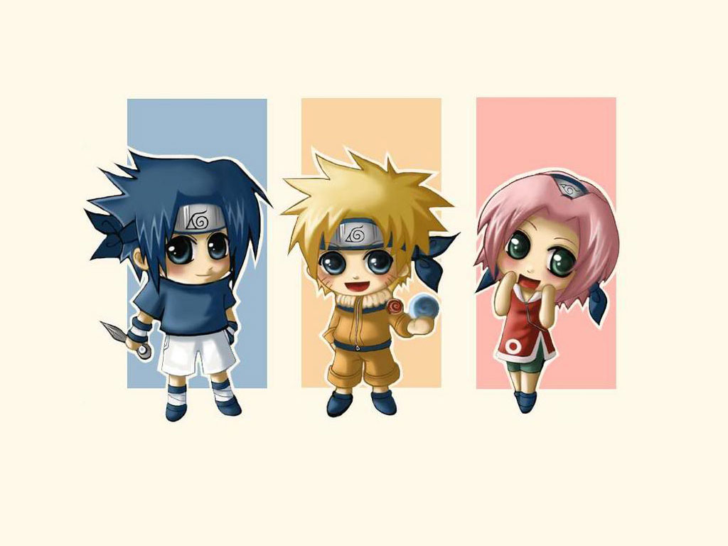 Awur Awuran Naruto Chibi Funny Anime Wallpaper