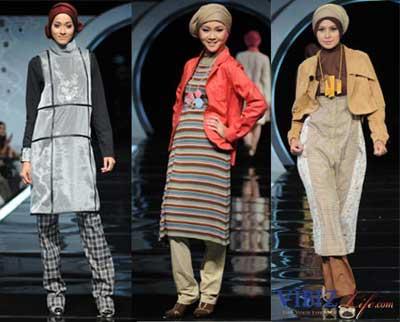 gaya busana muslim 2010