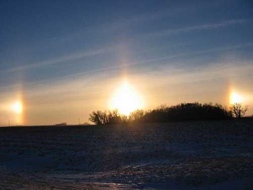 fenomena matahari ada banyak muncul bersamaan