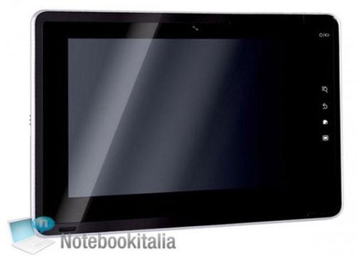 Tablet Android Toshiba Folio 100