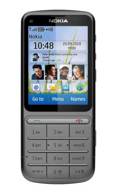 harga Nokia C3 Touch and Type - Nokia C3 Touchscreen