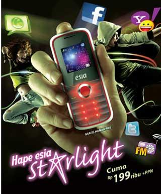 Spesifikasi Esia Starlight harga