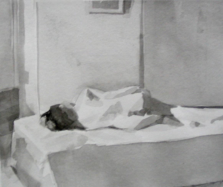 Ink Wash Figure