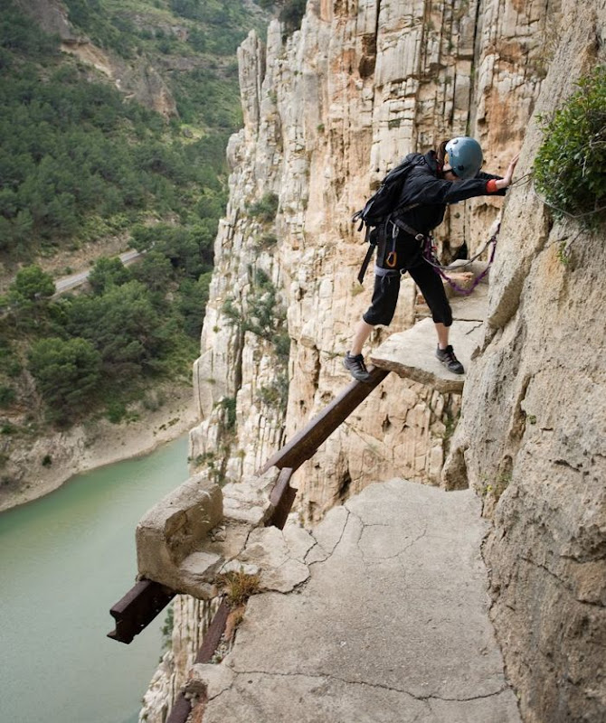 El Caminito del Rey or The Kings little pathway
