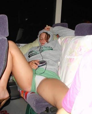 Случайное порно в транспорте
