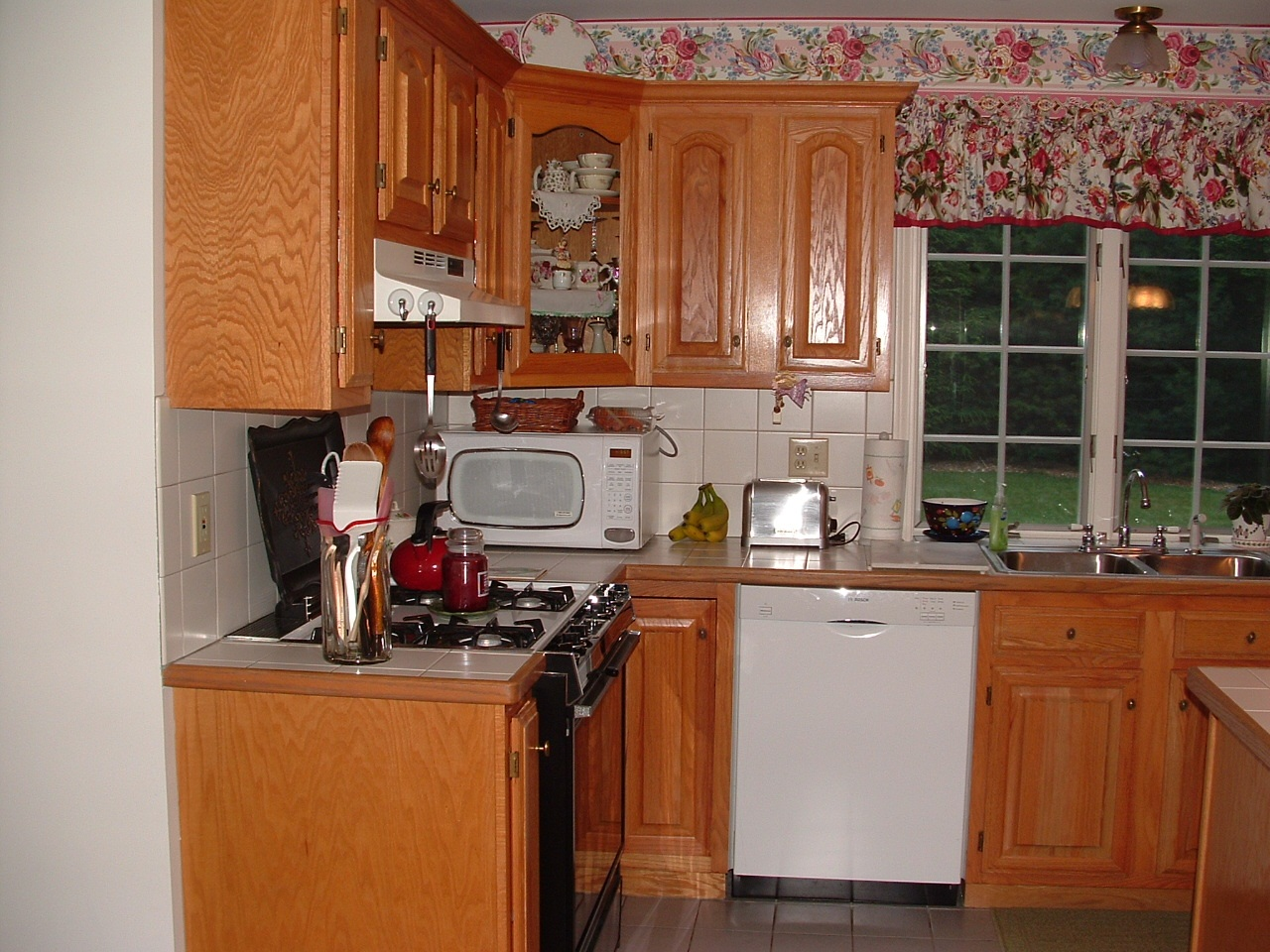 many times clients want to remove their outdated cabinetry even though